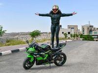زنان موتورسوار در کشورهای عربی +تصاویر