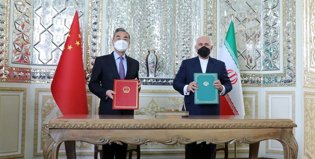 ظریف: از گسترش همکاریهای ایران و چین خرسند هستم