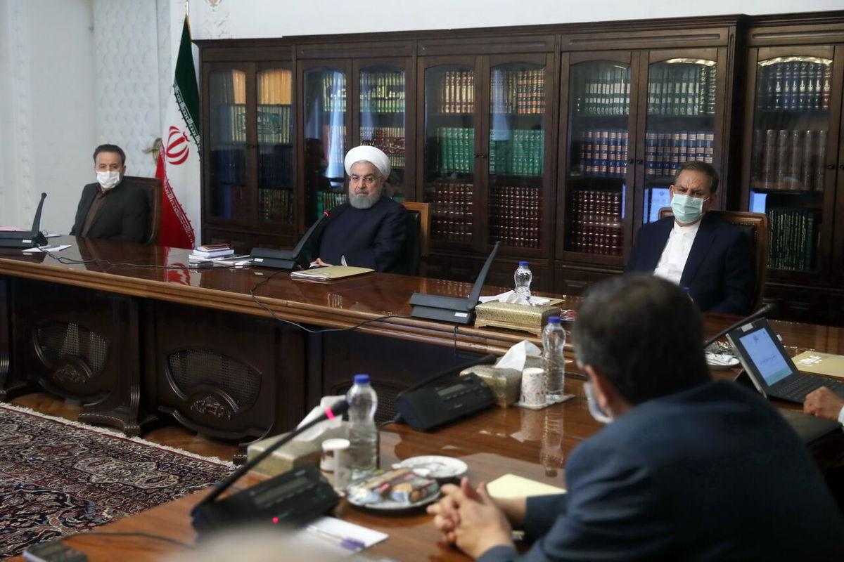 تاکید روحانی بر آزادسازی داراییهای ایران در جهان/  نباید فشار تحریم برای تامین ارز باعث افزایش افسار گسیخته قیمتها شود