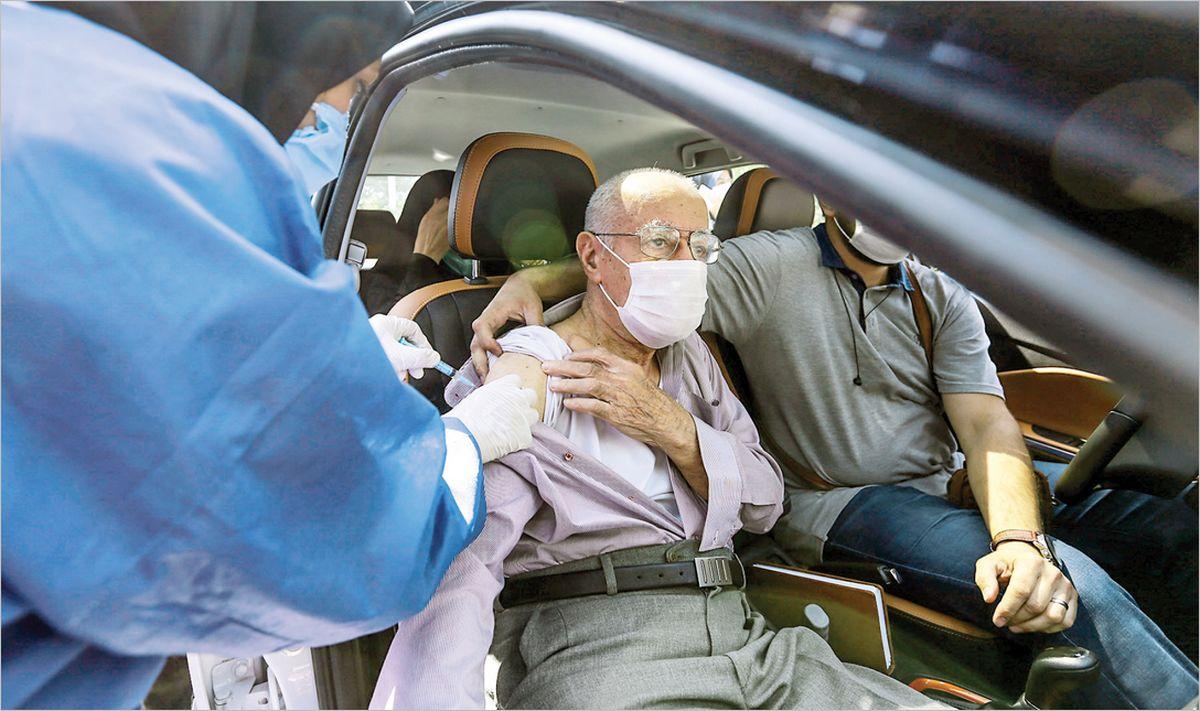 واکسیناسیون خودرویی آغاز شد