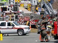 انفجار گاز در کارولینای شمالی +تصاویر