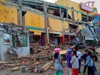 قربانیان زلزله و سونامی اندونزی به ۱۲۰۳ نفر رسید