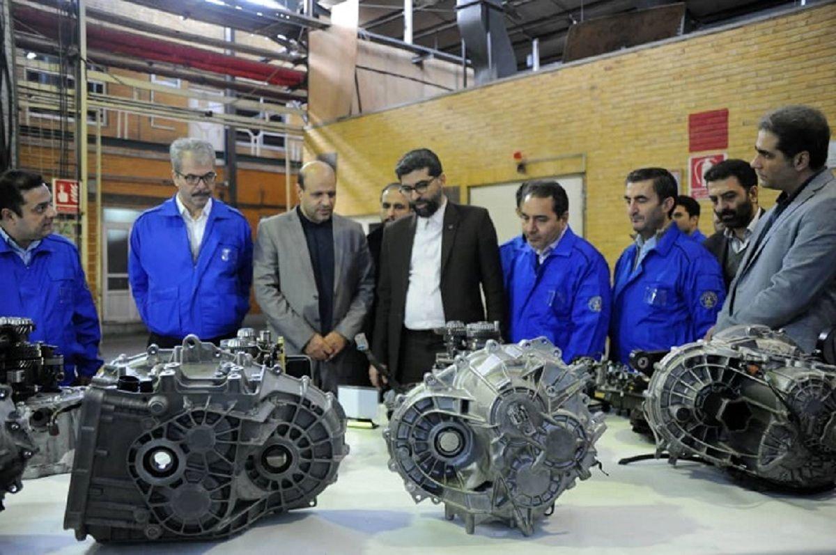 تولید آزمایشی ۳نوع گیربکس جدید در نیرو محرکه