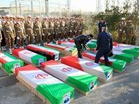 مراسم تشییع شهدای حادثه سقوط بوئینگ۷۰۷ +عکس