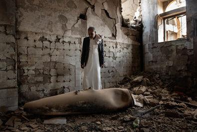 خانوادههای یمنی در میان جنگ به روایت تصویر