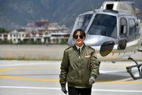 اولین زن خلبان تبتی +تصاویر