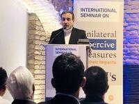 تأکید عراقچی بر لزوم توقف تحریمهای آمریکا علیه ایران