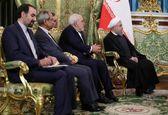 هیات ایرانی در کاخ کرملین +تصاویر