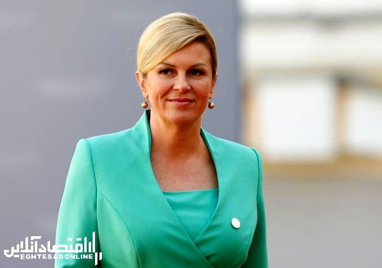 Croatia's President Kolinda Grabar-Kitarovic, in office since February 19, 2015. REUTERS/Ints Kalnins