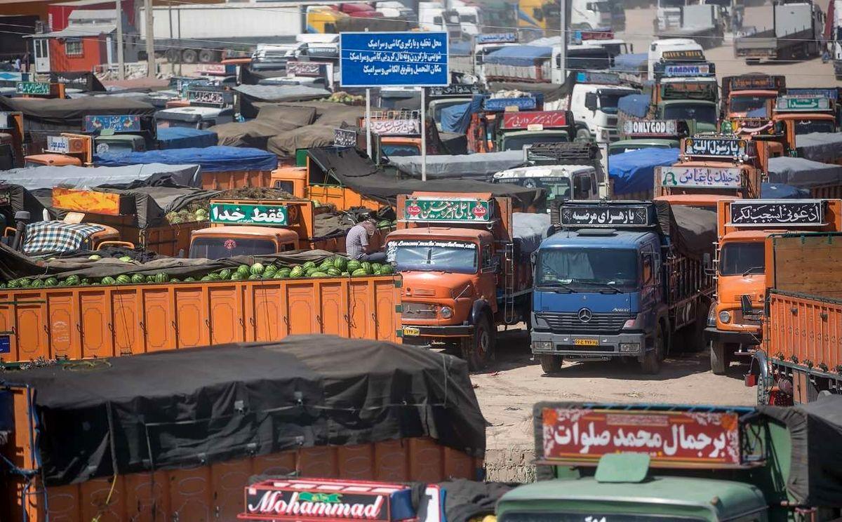 تراکم کامیونهای صادراتی پشت مرزهای عراق
