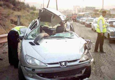 کاهش ۱۰درصدی آمار تلفات رانندگی