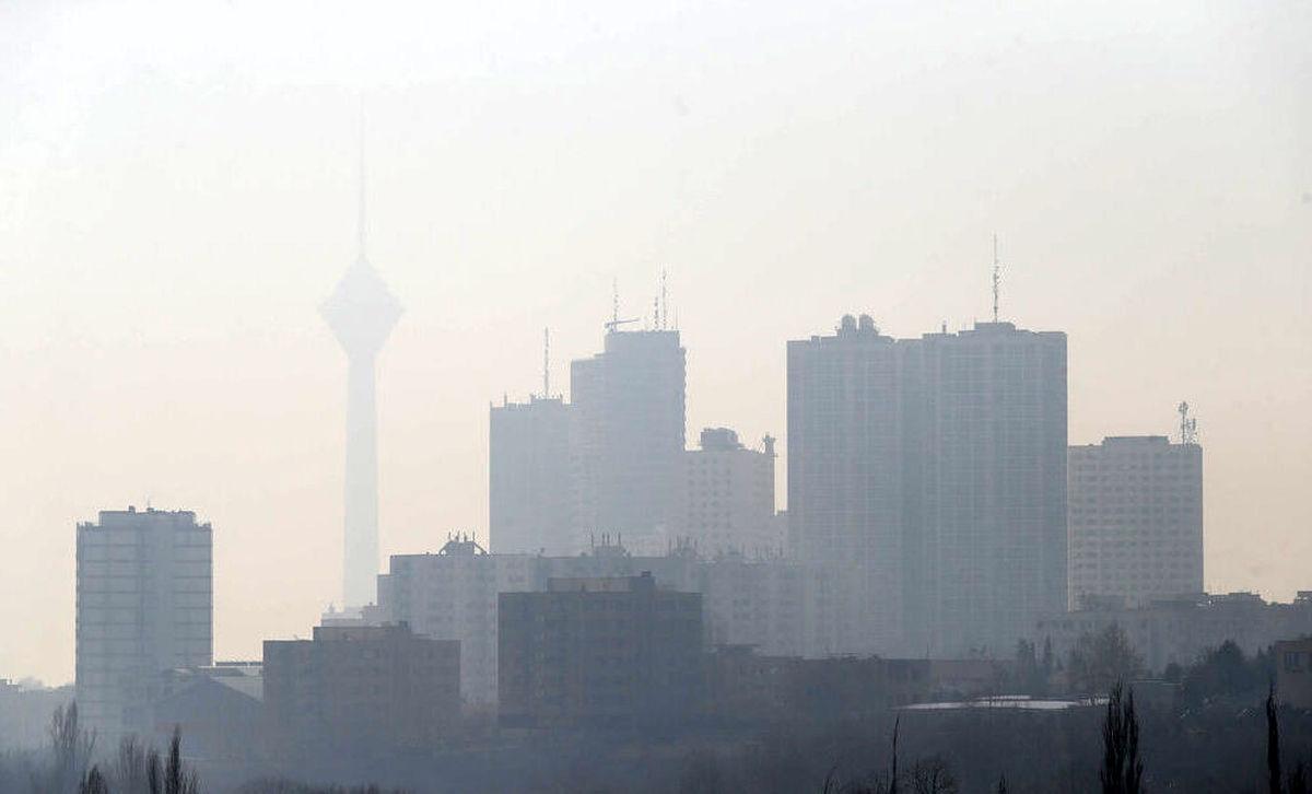 دی ماه ۹۹؛ آلودهترین ماه تهران در ۱۰سال گذشته