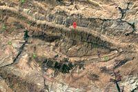 نقشه ماهوارهای شدت زلزله تهران منتشر شد