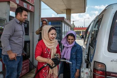 رانندگی زنان در افغانستان