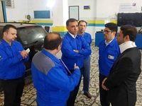 بازدید مدیران خدمات پس از فروش ایرانخودرو از استان مازندران