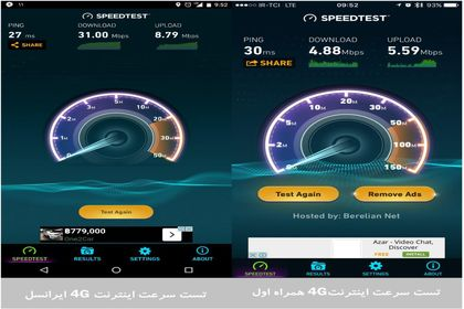 پوشش شبکه ۴G کامل نیست! +اینفوگرافیک