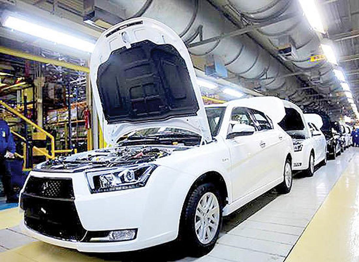 تولید ۵۴۳هزار دستگاه خودروی سواری تا آبان