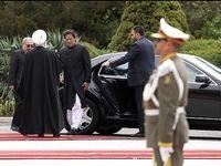 استقبال رییس جمهور از نخست وزیر پاکستان +عکس