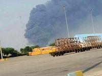 آتشسوزی در پتروشیمی بندر امام