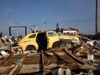 طوفان ایالتهای آمریکا را درنوردید +تصاویر