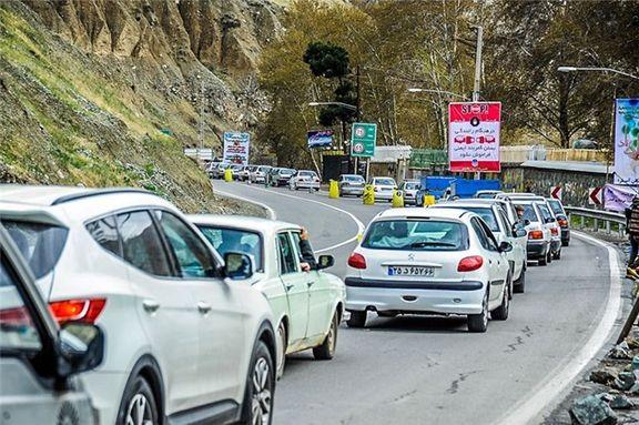 قفل ترافیک سنگین بر جادههای وروردی مازندران