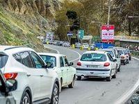 ترافیک نیمه سنگین در محور هراز و آزادراه کرج