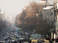 کیفیت هوا درشرایط ناسالم