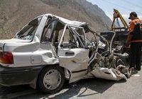 تصادف پراید و تریلی ۵ کشته به جا گذاشت