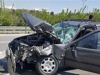 تصادف خونین پژو ۴۰۵ با خودروی یدککش +عکس