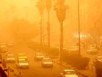 غلظت غبار در زابل به ۳۷ برابر حد مجاز رسید