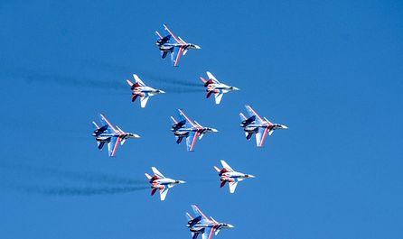 نمایش هوایی روسیه