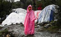 زمستان سخت پناهندگان در کمپ یونان +تصاویر