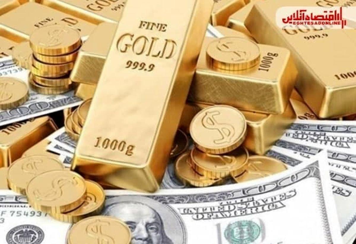 قیمت طلای جهانی کاهشی شد