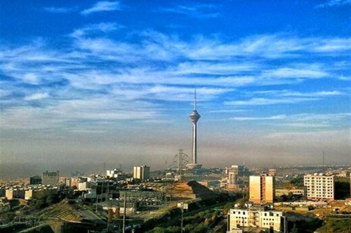 هوای پایتخت در اولین روز اسفند پاک است