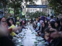 افطاری ٣٠٠٠نفری وسط خیابان +تصاویر