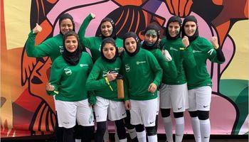 اولین دوره لیگ برتر فوتبال زنان عربستان +تصاویر