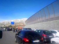 استقبال عجیب مردم تهران برای ورود به قطعه یک آزادراه تهران ـ شمال