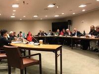 حضور ظریف در نشست وزیران امور خارجه اکو در نیویورک