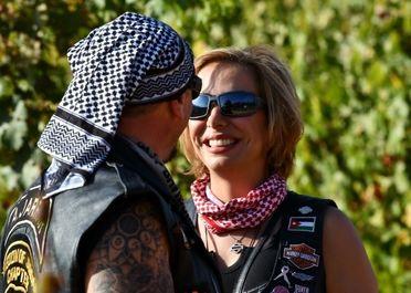 زنان موتورسوار در کشورهای عربی