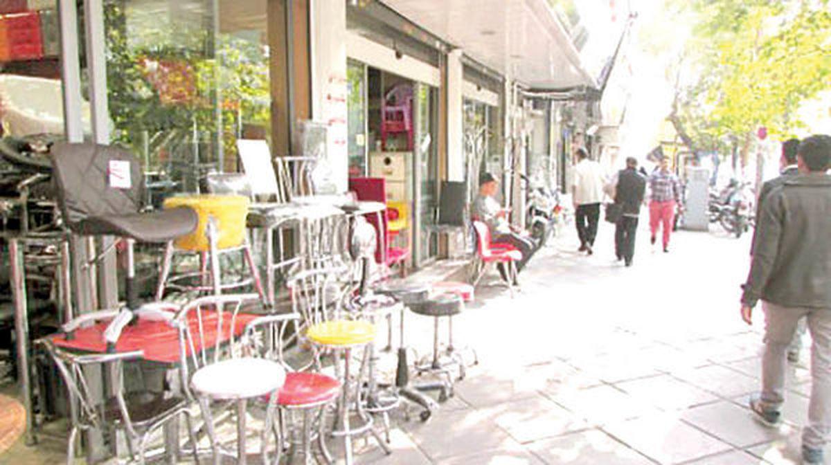 کاهش فروش ۵۰درصدی میز و صندلی