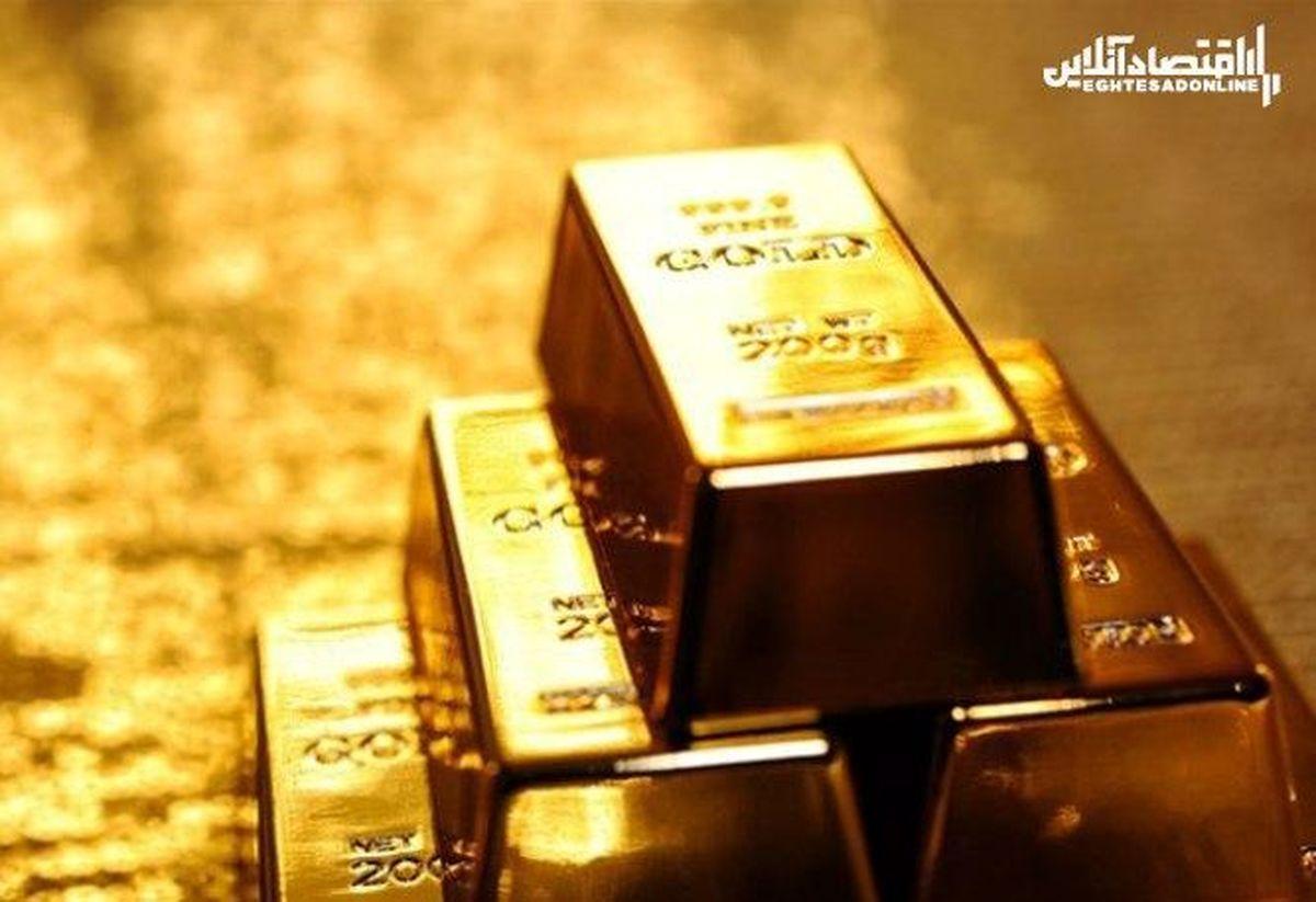 ریزش ۱۰دلاری طلای جهانی