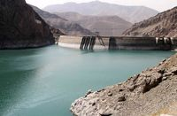 حجم آب ورودی به سدهای تهران ۵۱درصد کاهش یافت