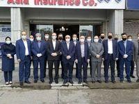 بازدید مدیرعامل بیمه آسیا از شعب کشیک نوروزی در تهران