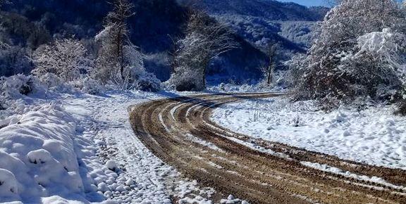 برف و باران ۳ روزه در ۱۶ استان