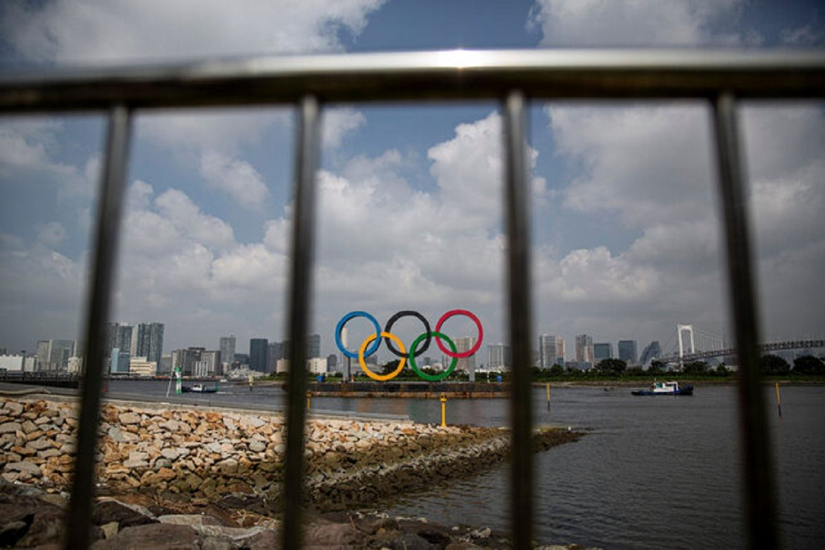 مشعل المپیک توکیو روشن شد