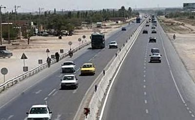 تردد در جادههای کشور کم شد