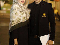 عکسی از بازیگر مرد و همسرش که تاکنون ندیدهاید +تصویر