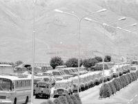 پارکینگ صدا و سیما  در دهه ۵۰ +عکس