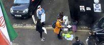 تلاش ناکام برای برگزاری تظاهرات مقابل سفارت ایران در لندن
