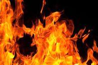 آتش گرفتن پراید در جاده اهواز-مسجدسلیمان +فیلم